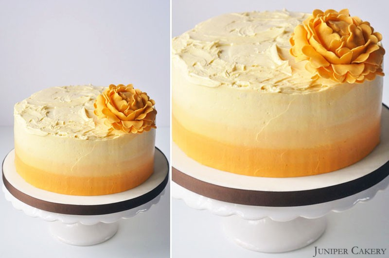 Lemon, Lime & Passion Fruit Cake in Partnership with The Happy Egg Co ...