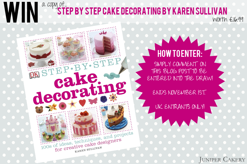 Cake Decorating Company Reviews : Review: Step by Step Cake Decorating by Karen Sullivan - Juniper Cakery Bespoke Cakes in ...