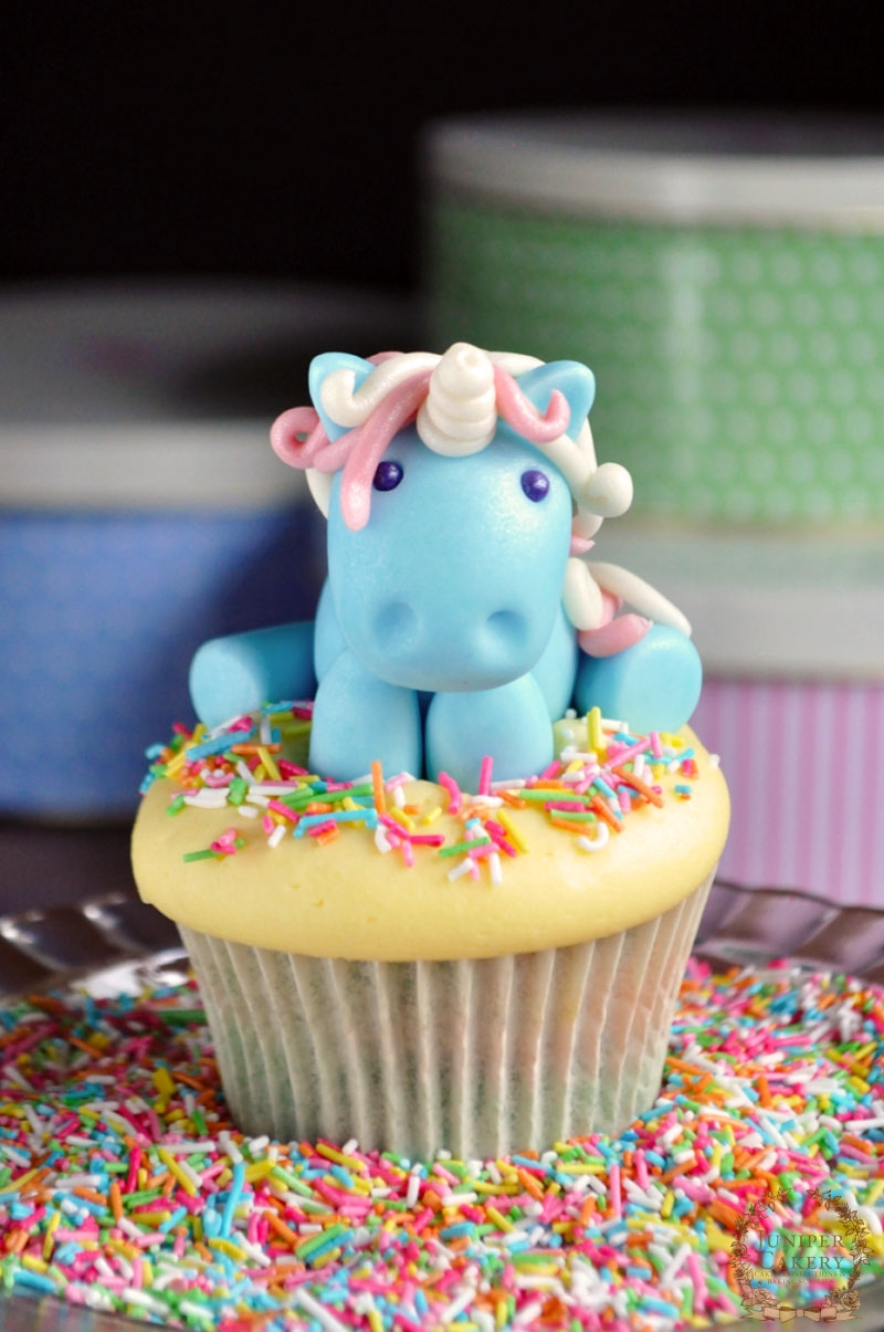 Fairy Tale Recipe amp Tutorial Rainbow Unicorn Cupcakes