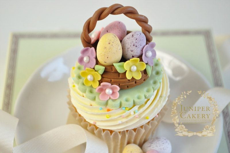 Easter recipe tutorial floral easter basket cupcakes juniper easter recipe tutorial floral easter basket cupcakes juniper cakery bespoke cakes in yorkshire the humber negle Gallery