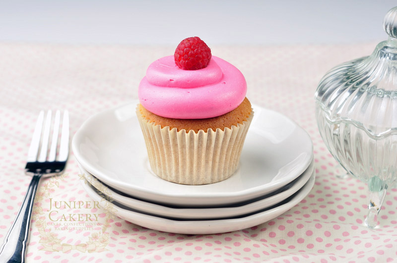 Must try this raspberry cupcake by Juniper Cakery