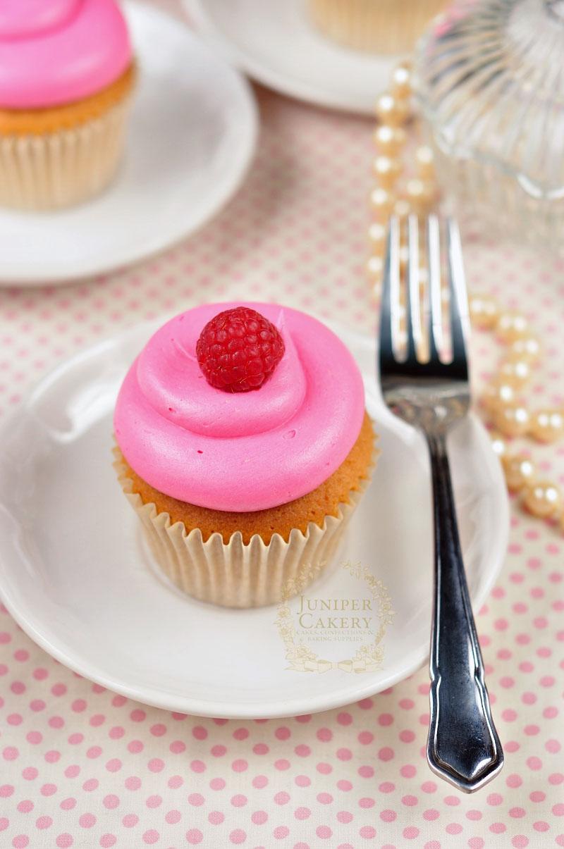 Raspberry Cupcake by Juniper Cakery
