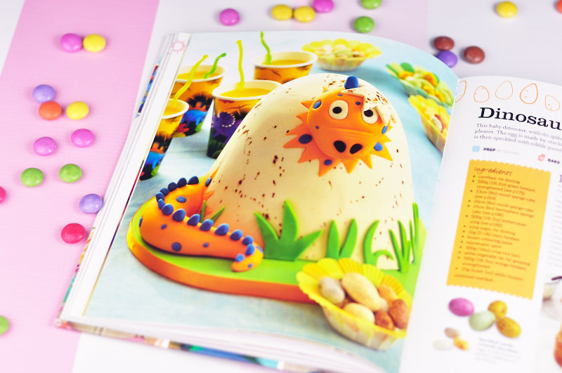 Step by Step Kids  Birthday Cakes Book from DK Books!