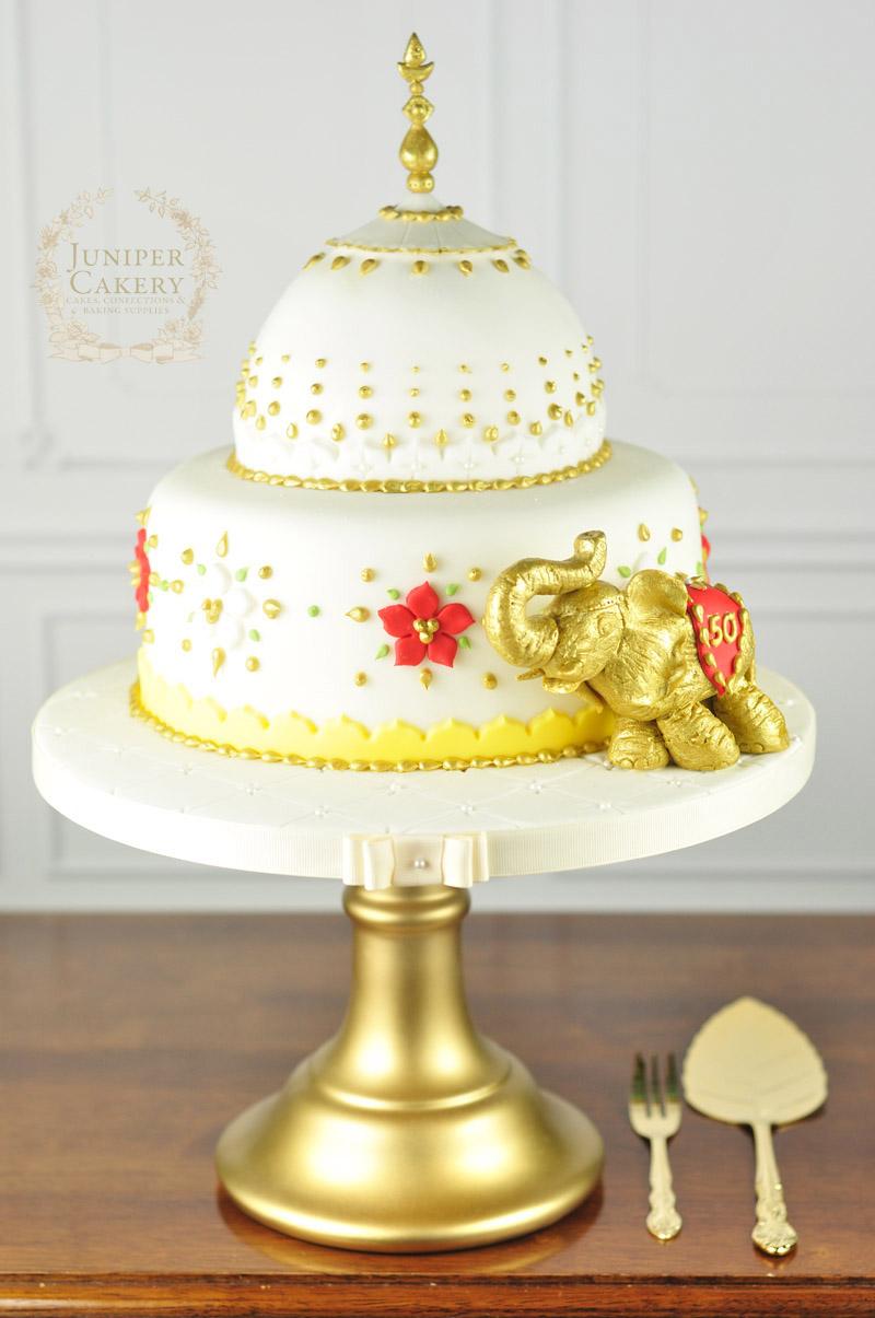 Indian Taj Mahal inspired cake by Juniper Cakery