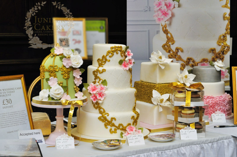 Juniper Cakery at The Guildhall Wedding Fair in Hull
