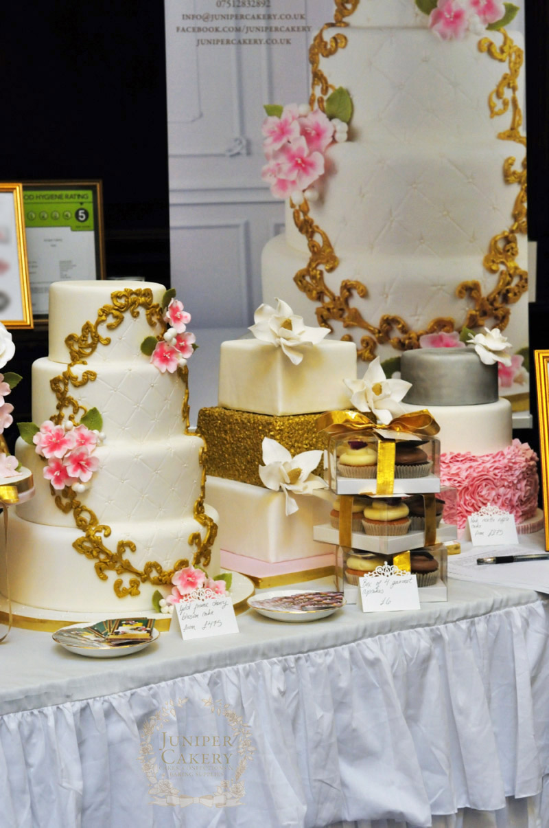 Juniper Cakery at the Guildhall Wedding Show
