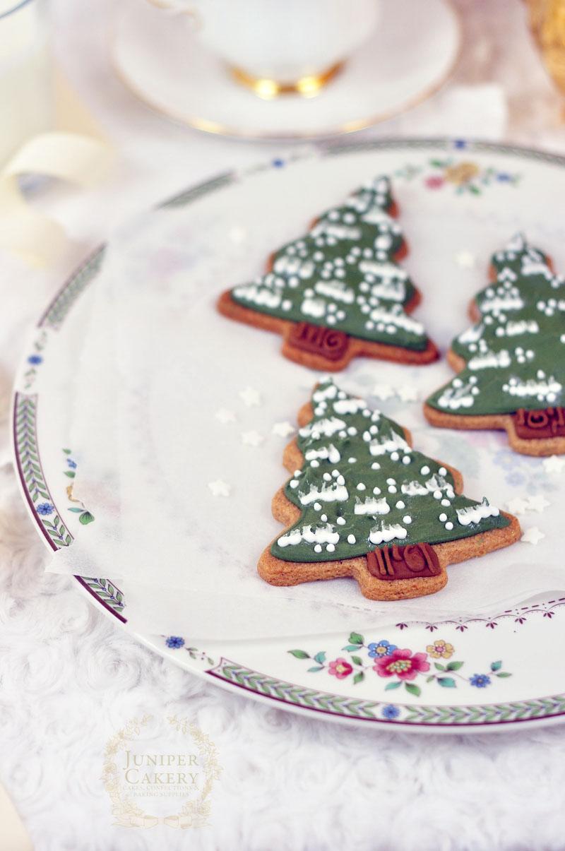Christmas Tree Cookies Three Juniper