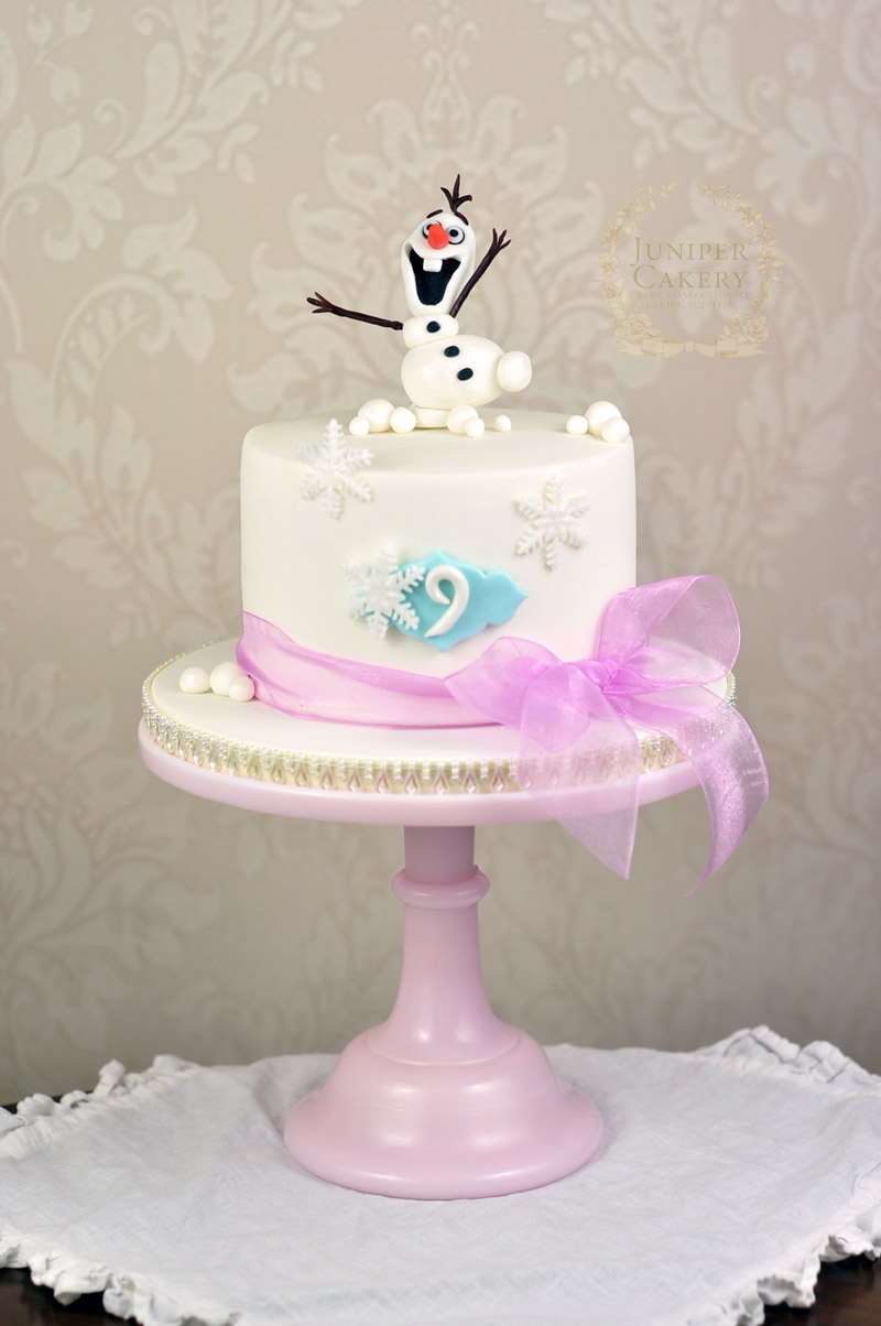 Olaf From Frozen Birthday Cake! - Juniper Cakery  Bespoke Cakes in ...