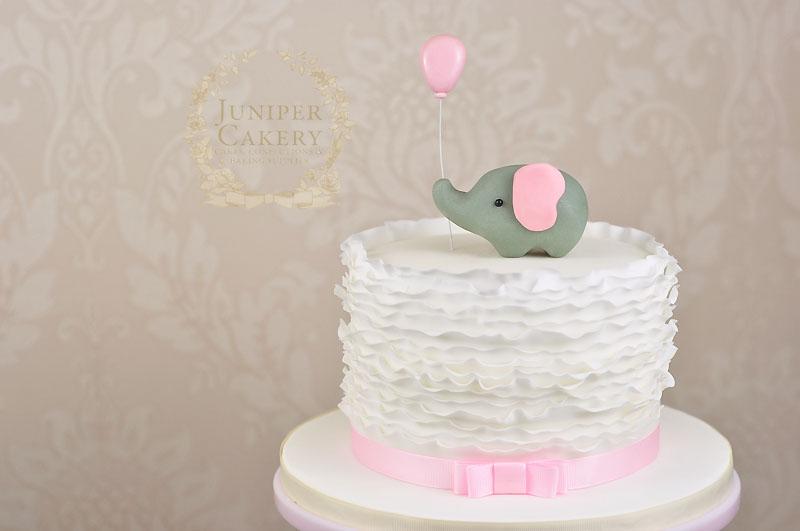 and elephant baby shower cake juniper cakery bespoke cakes