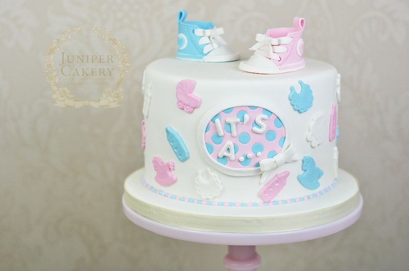Baby Showers Cakes ~ Converse high tops baby shower cake