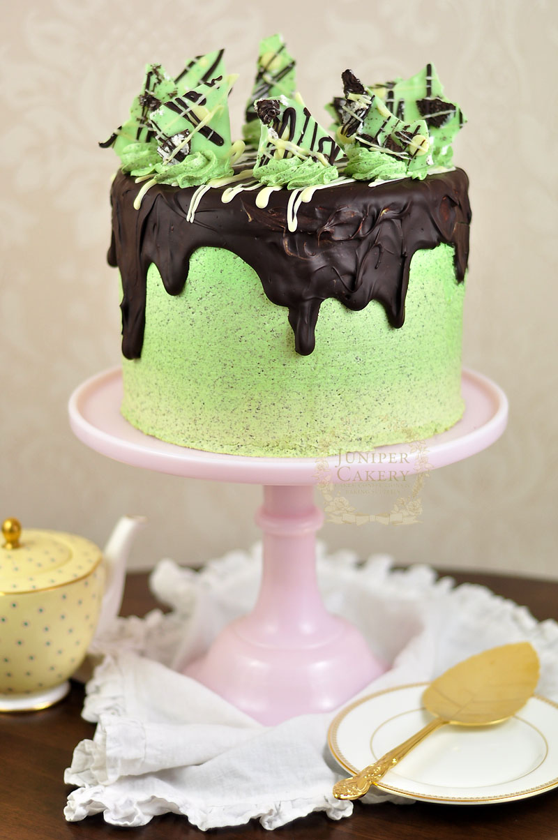 Peppermint Oreo Cake by Juniper Cakery