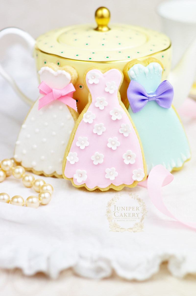 Bridal Shower Cookies by Juniper Cakery